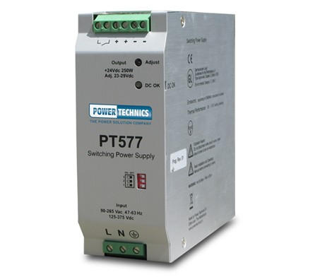 Power Technics introduces the smallest DIN-rail power supplies on the market
